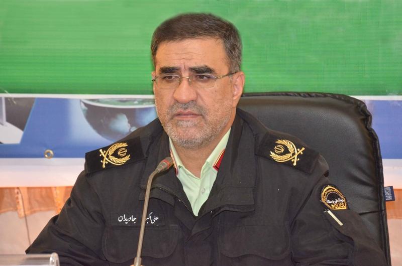 پلیس کرمانشاه راه شهید جواهری را با افتخار ادامه میدهد
