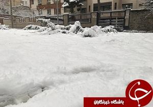 لباس سفید بر تن شهرهای مختلف استان همدان