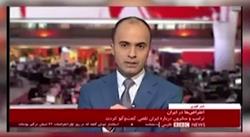سوتی مضحک بیبیسی در مخابره اغتشاشات اخیر در ایران + فیلم