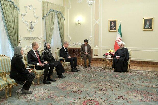 ایران علاقهمند به توسعه همکاریهای تجاری و اقتصادی با سوئد است/ کاهش تعهدات برجامی ایران، در چارچوب برجام است
