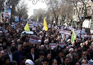 المیادین: در محکومیت اغتشاشات و اعلام حمایت از رهبری در ایران تظاهرات سراسری برگزار شد