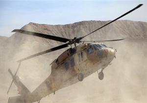 کشته شدن ۲ نظامی آمریکایی در سقوط بالگرد در افغانستان