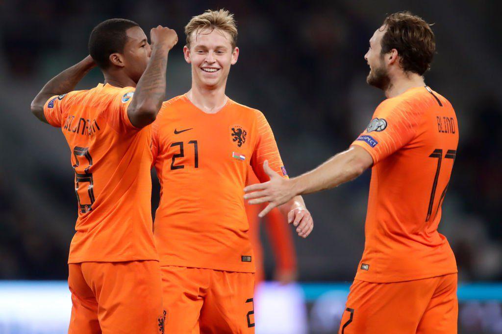 پیروزی پر گل آلمان، هلند و بلژیک/صعود ولز با درحشش رمزی