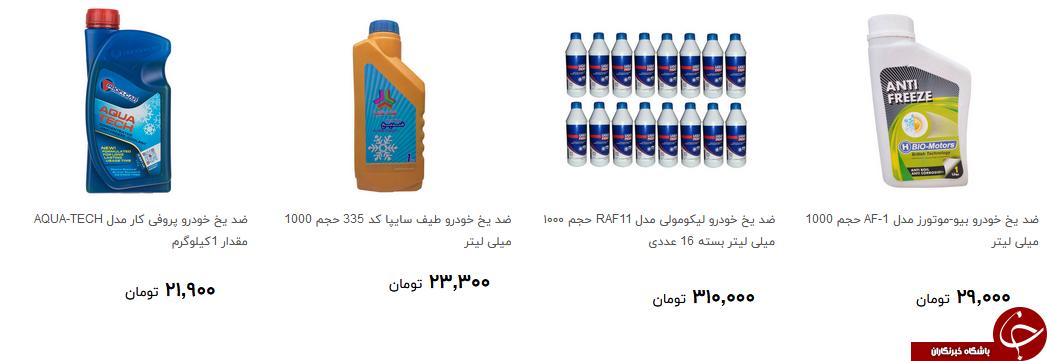 خرید ضد یخ خودرو چقدر آب می خورد؟ + قیمت