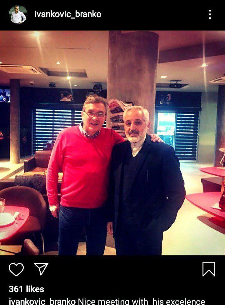 جلسه برانکو با سفیر کشورمان در کرواسی/ پروفسور به فوتبال ایران باز میگردد؟
