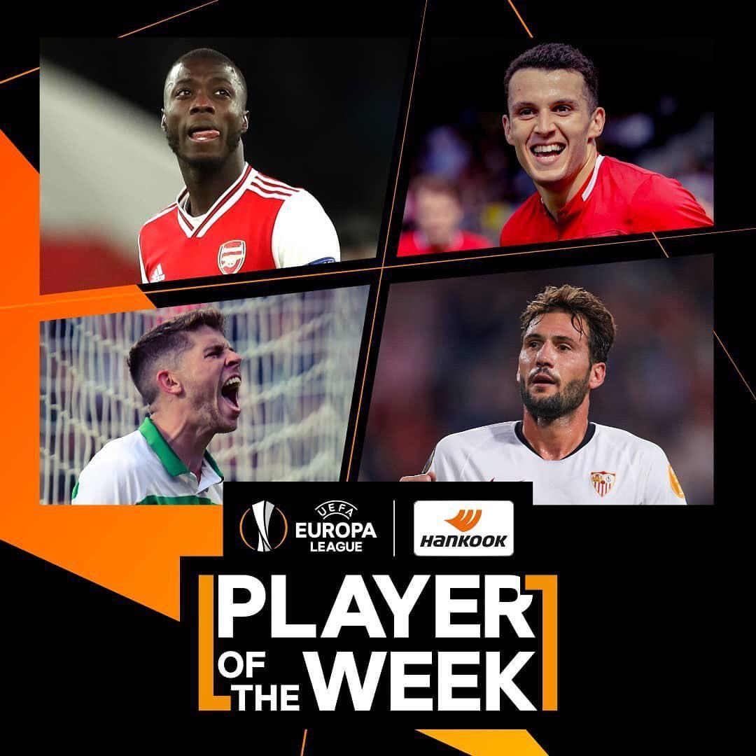 نامزدهای بهترین بازیکن هفته سوم لیگ اروپا اعلام شدند