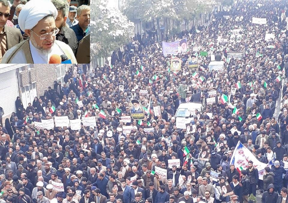 قدردانی آیت الله اراکی از حرکت انقلابی مردم استان مرکزی