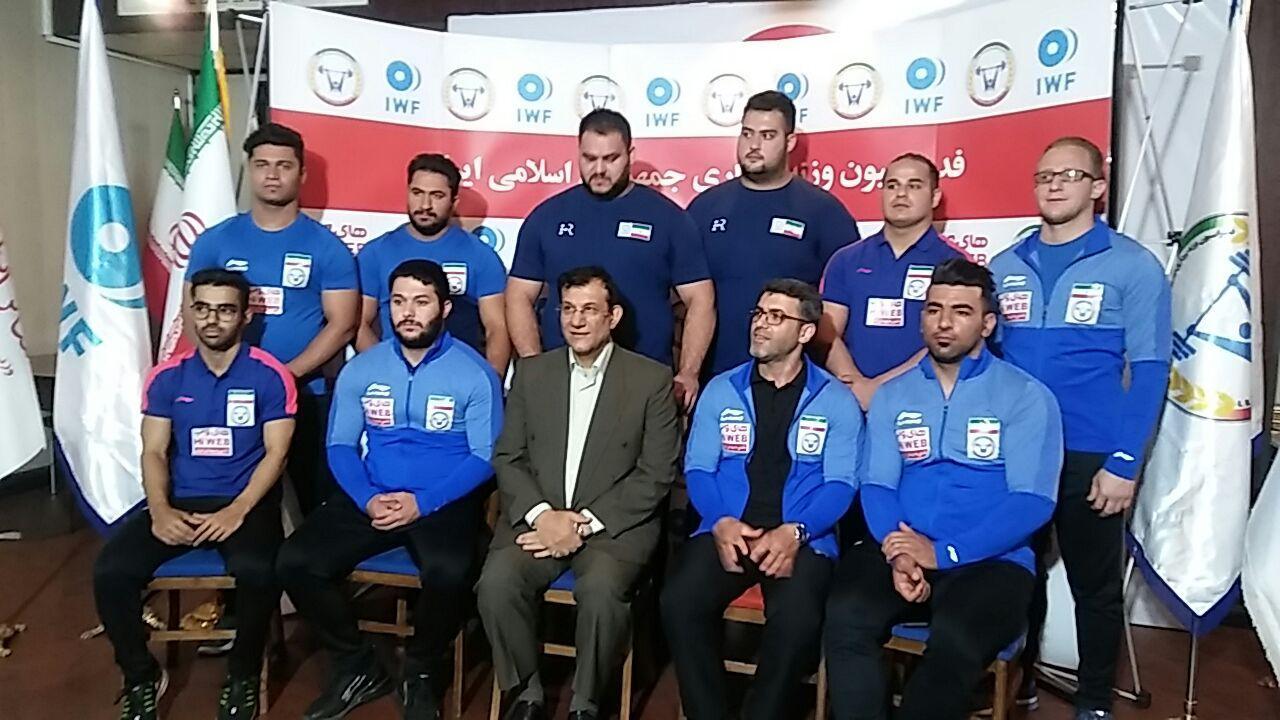 ترکیب تیم ملی وزنهبرداری تغییر میکند