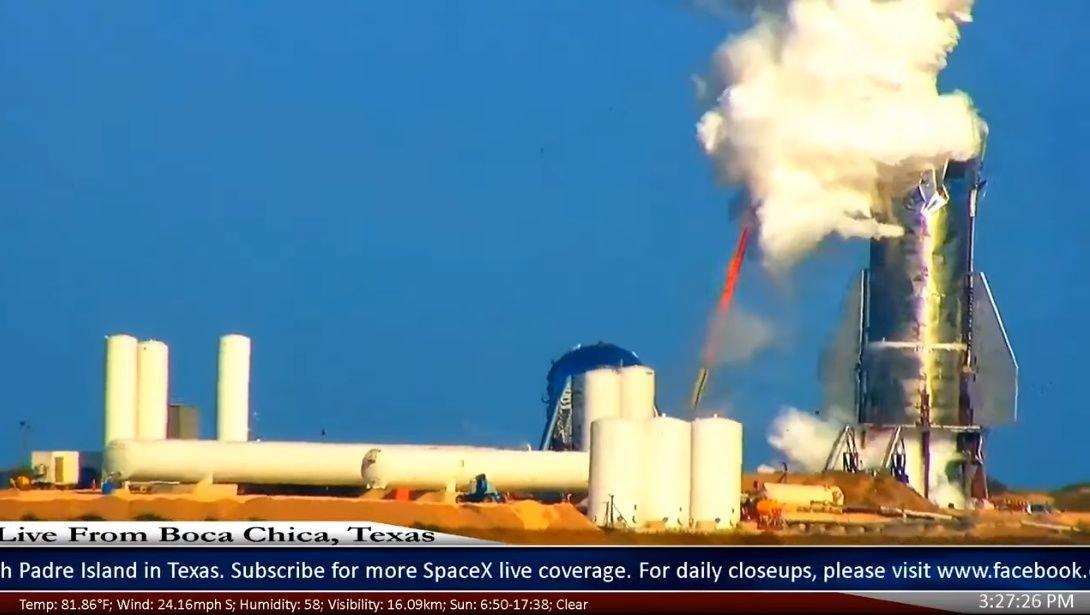 نتیجه ناامید کننده آزمایش اخیر سفینه SpaceX