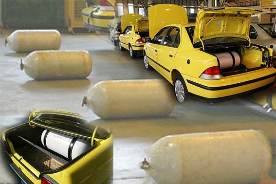همه خودروهای ورودی به تاکسیرانی در چند سال اخیر دوگانه سوز هستند