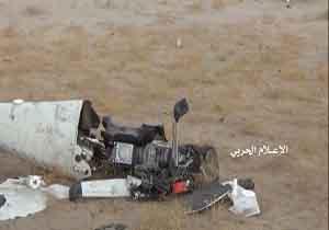 ساقط شدن پهپاد جاسوسی ائتلاف متجاوز سعودی در یمن