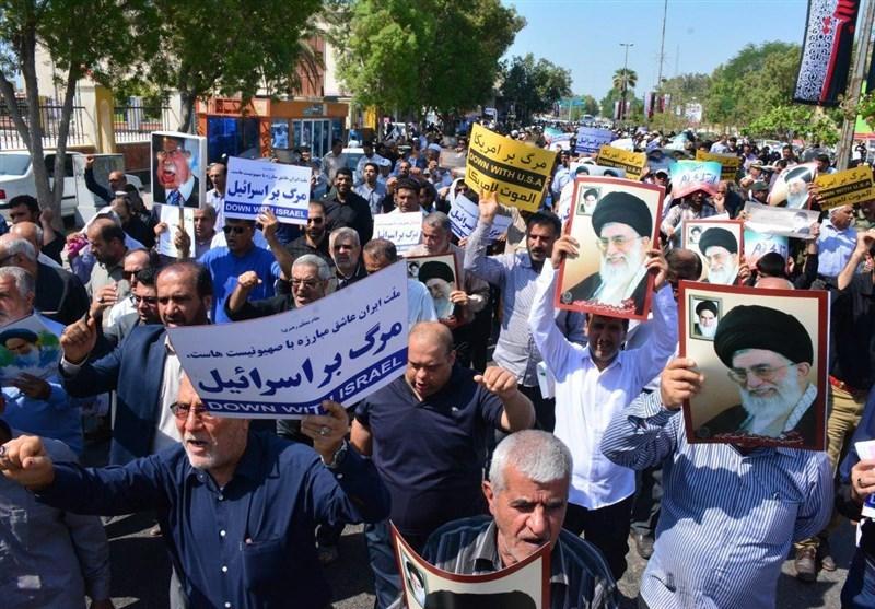 اتحاد مردم ایران، مشتی بر دهان حامیان اغتشاشگران + فیلم