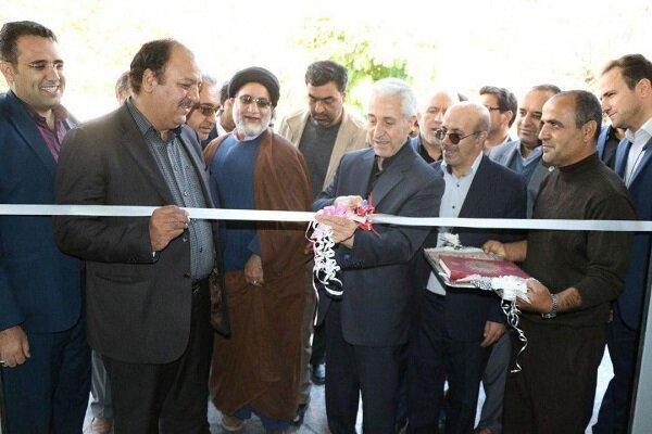 افتتاح سالن ورزشی دانشگاه پیامنور واحد اسدآباد با حضور وزیر علوم
