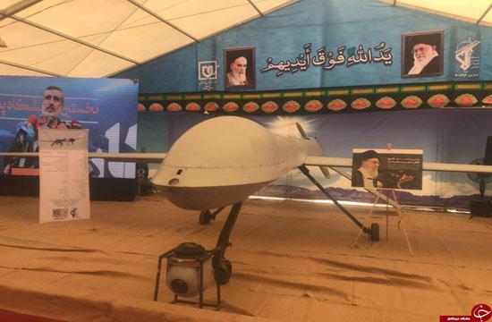 تضمین امنیت آسمان ایران با پهپاد مهاجر ۲