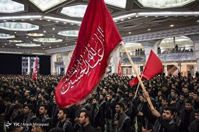 مراسم عزاداری ۲۸ صفر در مصلی تهران