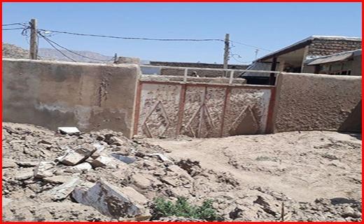 خطر تکرار سیل در جنوب لرستان/ روستاهای پلدختر بدون حصار در برابر سیلاب + تصاویر