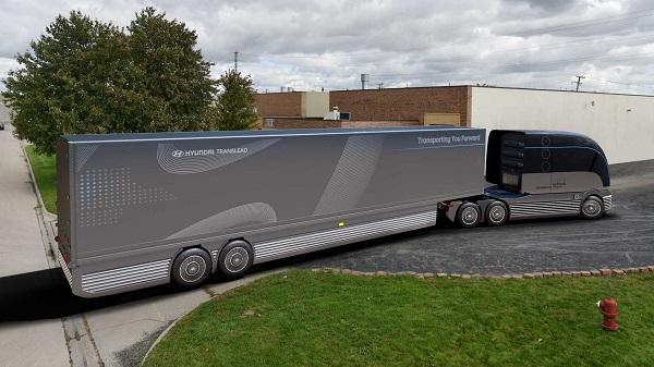 رونمایی از کانسپت کامیون هیدروژنی هیوندای +تصاویر