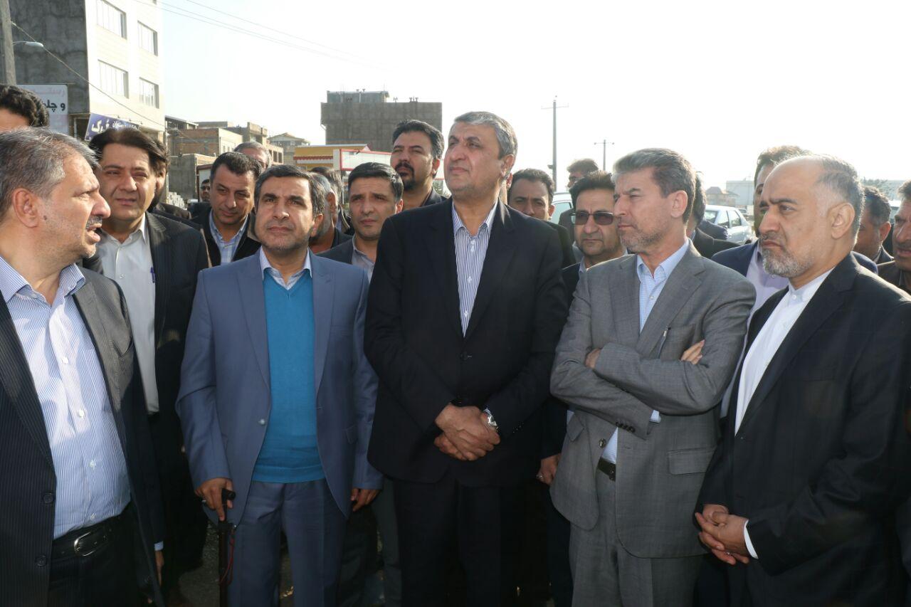 بازدید  وزیر راه و شهرسازی از مراحل بهسازی محور خوی _قطور_ رازی