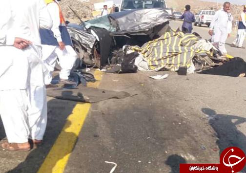 حادثه رانندگی مرگبار در محور نیکشهر/ ۷ نفر جان باختند
