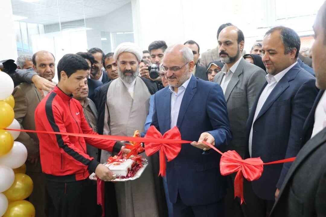 ۱۵۶ پروژه ورزشی در کشور افتتاح شد