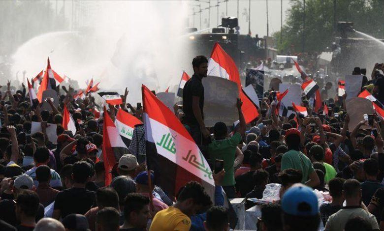 پولهای سعودی در کف خیابانهای عراق +فیلم