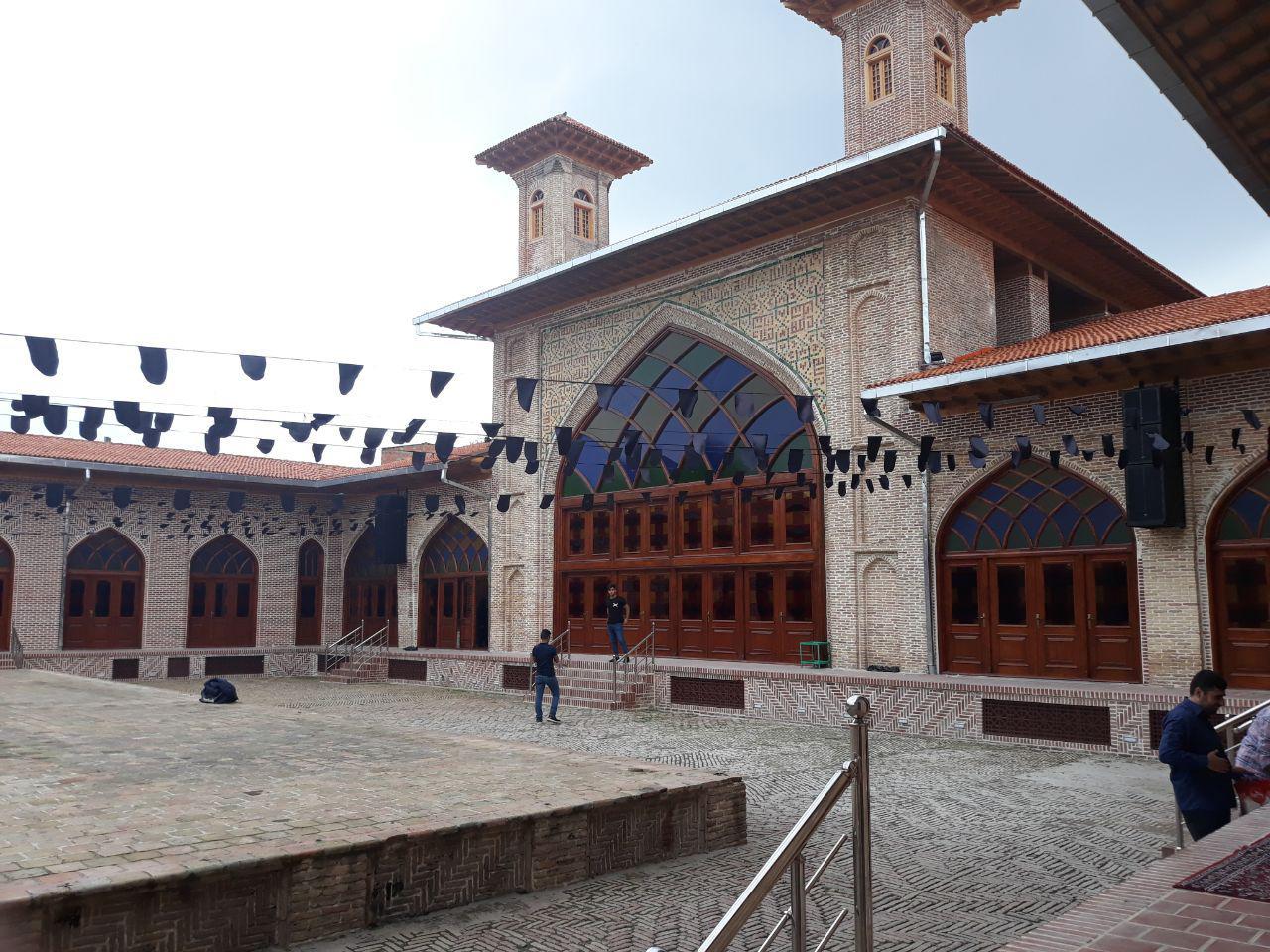 مسجدی که روی ویرانههای یک آتشکده ساخته شد