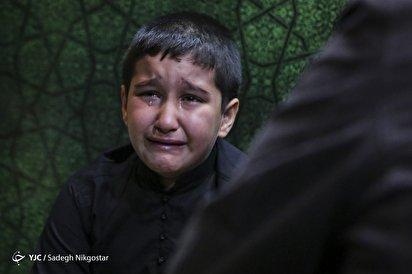 وداع با شهید مدافع حرم حامد سلطانی