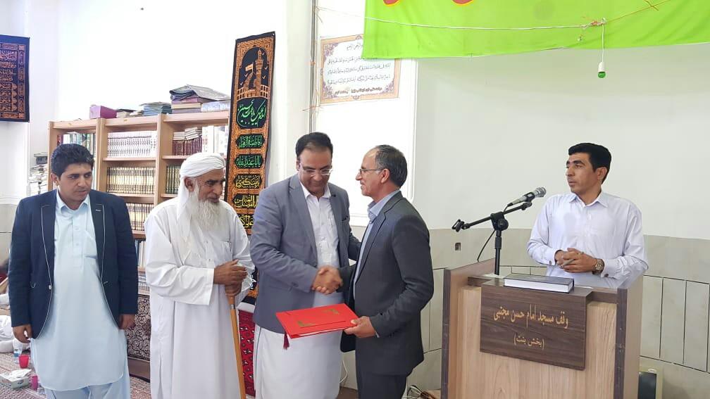 پردیس آموزشی دانشگاه آزاد اسلامی بنت واحد نیکشهر افتتاح شد