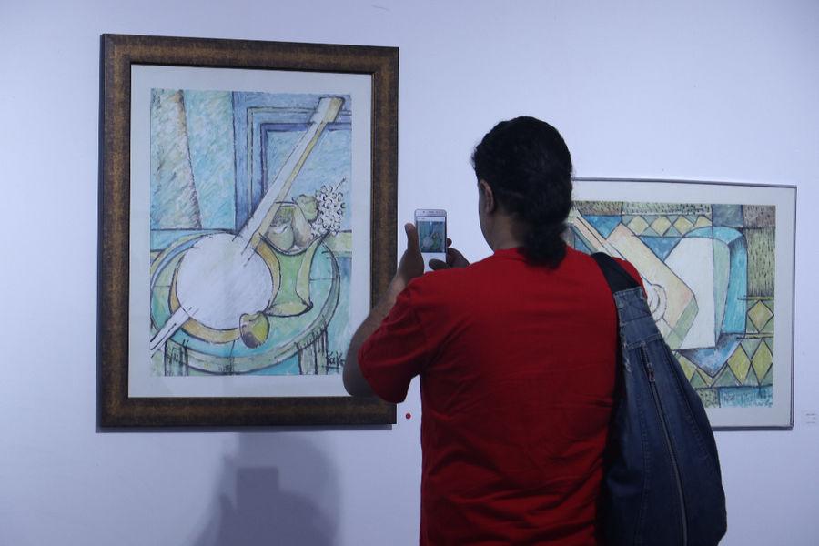 برپایی نمایشگاه آثار نقاشی هنرمندان نوگرا در گالری میلاد