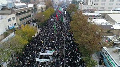 راهپیمایی مردم مشهد در حمایت از امنیت + فیلم