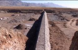 احداث بزرگترین طرح آبخیزداری کشور در چهرآباد زنجان