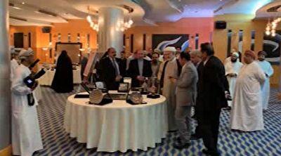 برگزاری نمایشگاه هنر ایرانی در عمان + فیلم