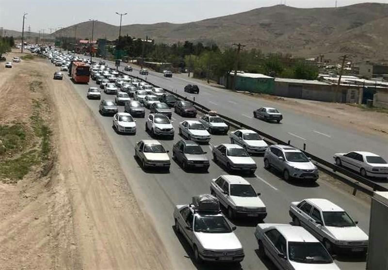 محورها و جادههای استان کرمانشاه  بارش ندارد