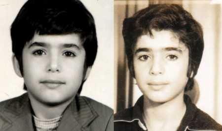 عکسی از دوران کودکی سید جواد هاشمی
