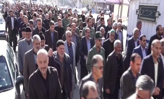 راهپیمایی مردم در برخی از مناطق استان همدان به روایت تصویر