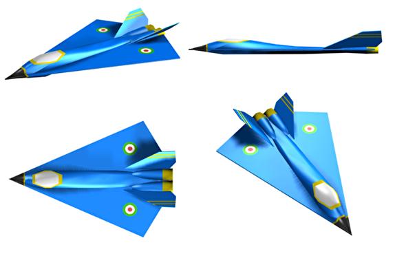 باشگاه خبرنگاران -سفره ماهی؛ اولین پهپاد دلتای بومی با قابلیت بمباران هوایی + تصاویر