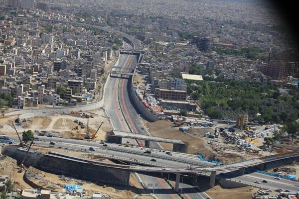آخرین جزئیات از تکمیل عرشه پل خاوران