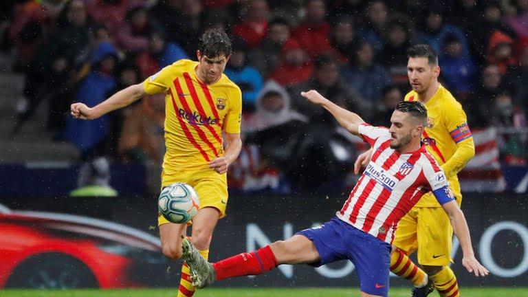 اتلتیکو مادرید صفر - بارسلونا 1 / گزارش لحظه به لحظه