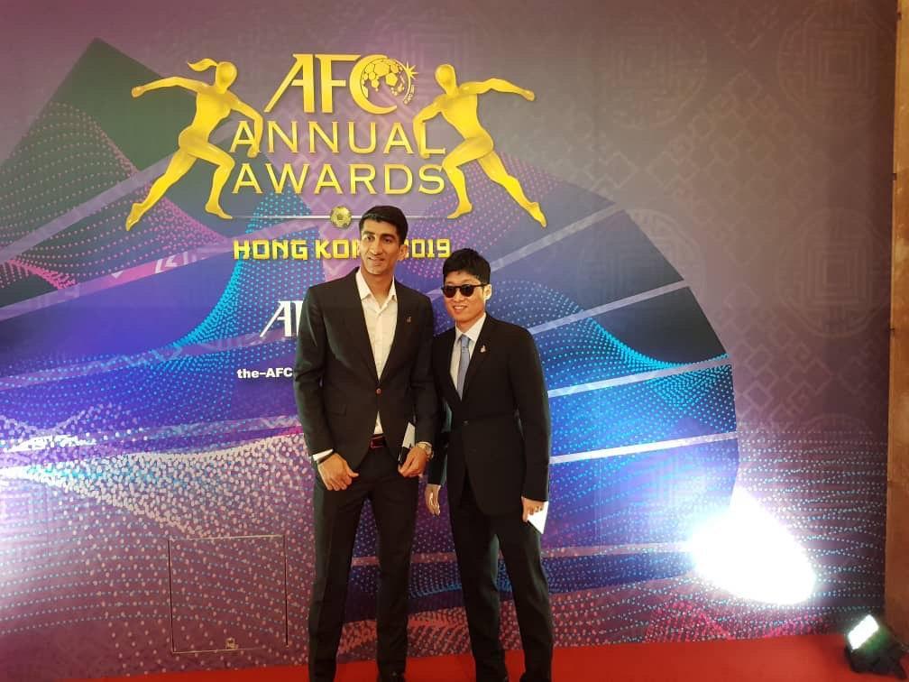 لحظه به لحظه با مراسم انتخاب برترینهای فوتبال و فوتسال آسیا