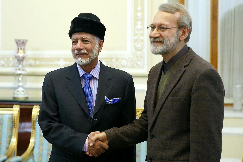 دیدار وزیر خارجه عمان با لاریجانی