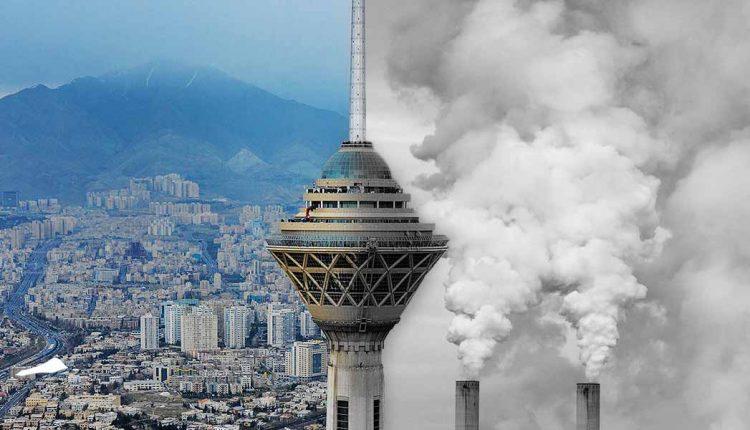 کیفیت هوای پایتخت ناسالم