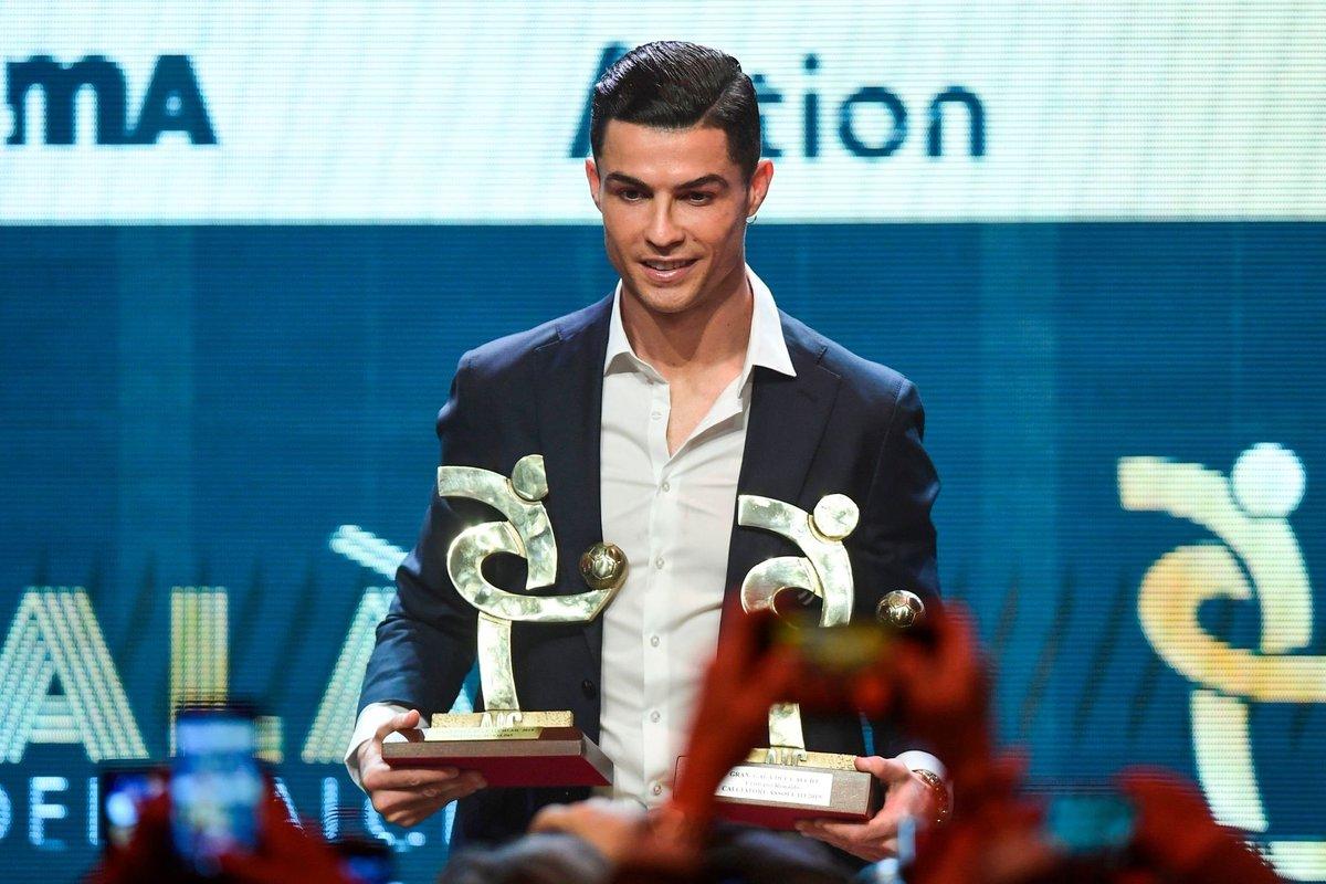 رونالدو بهترین بازیکن کالچو/آتالانتا و گاسپرینی بهترین تیم و سرمربی