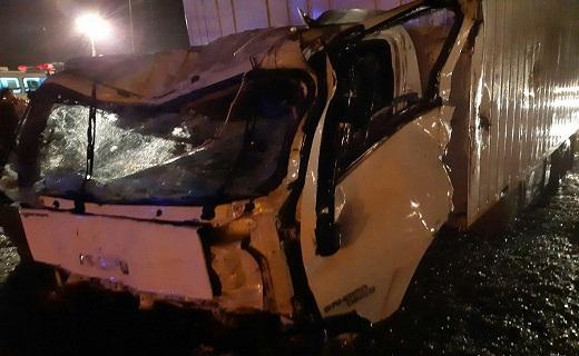 ۳ کشته و ۲۴ مصدوم حاصل برخورد پنج دستگاه خودرو در قزوین