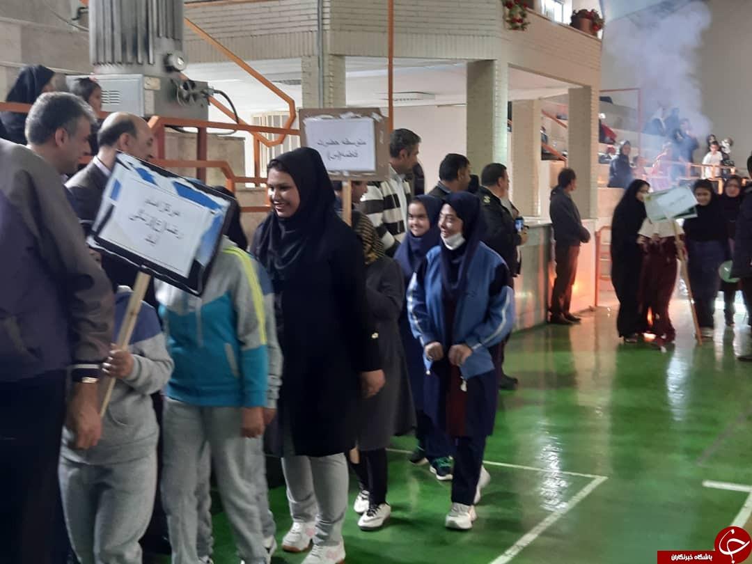 پایان رقابت کودکان دارای نیازهای خاص در کرمان + تصاویر