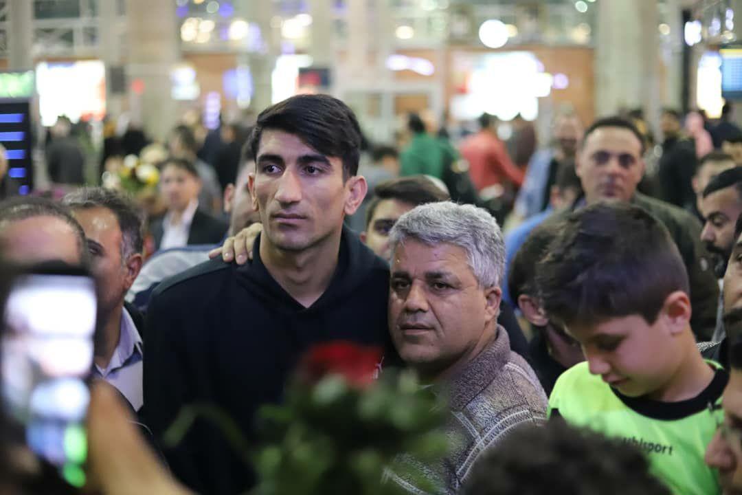 علیرضا بیرانوند به تهران بازگشت + تصاویر