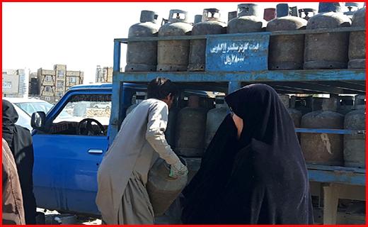 صفهای گاز در زاهدان همچنان پابرجا/بحران در سیستان وبلوچستان ادامه دارد