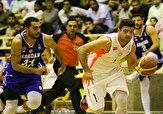 باشگاه خبرنگاران -جدال شهرداری با مهرام در لیگ برتر بسکتبال