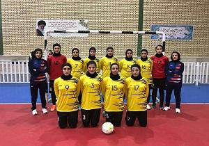 رقابت فوتسالیستهای لردگانی در لیگ دسته اول بانوان کشور