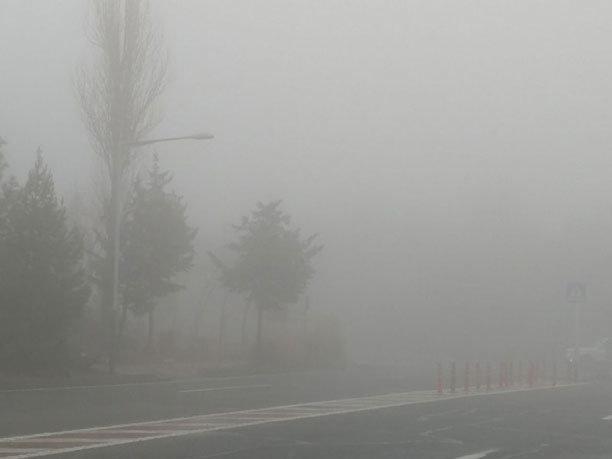 هوای خوزستان مه آلود است رانندگان احتیاط کنند