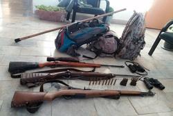 دستگیری ۵ متخلف شکار غیر مجاز در منطقه حفاظت شده سرخ آباد